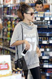 Alessandra Ambrosio Shopping in Santa Monica - April 2015
