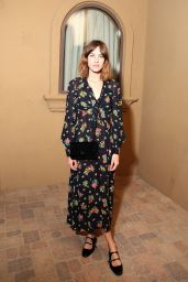 Alexa Chung - At the Moschino