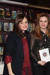Alexis Bledel and Amber Tamblyn at Amber Tamblyn