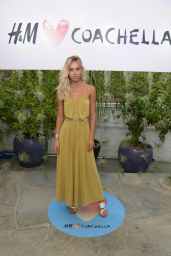 Alexis Ren – H&M Loves Coachella Party in Palm Springs, April 2015
