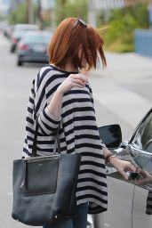 Alyson Hannigan - Shopping in Beverly Hills, April 2015