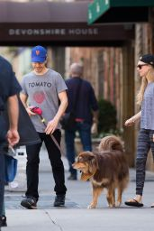 Amanda Seyfried - Out with Finn in New York City, April 2015