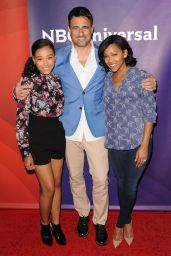 Amandla Stenberg - NBCUniversal Summer Press Day in Pasadena