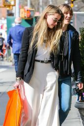 Amber Heard - Out Shopping in New York City, April 2015