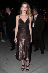 Amber Heard Style - New York City, April 2015