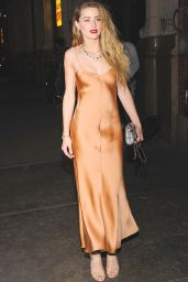Amber Heard - Tiffany Blue Book Dinner in New York City, April 2015