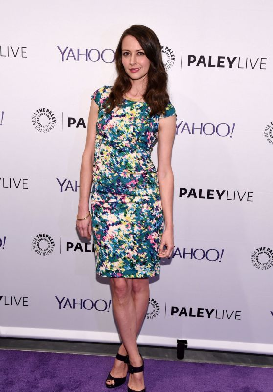 Amy Acker - The Paley Center Person Of Interest Event for Paleyfest in New York City