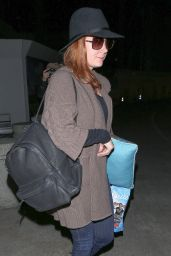 Amy Adams at LAX Airport, April 2015