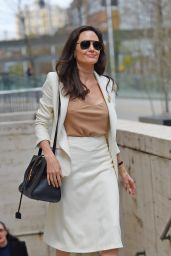 Angelina Jolie Style - Leaving the Lincoln Center in NYC, April 2015