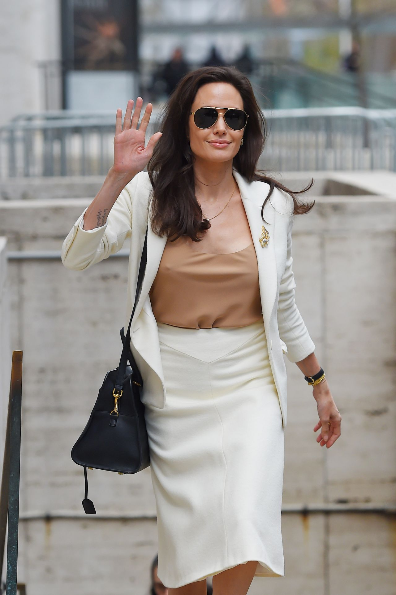 Angelina Jolie Style - Leaving the Lincoln Center in NYC ... анджелина джоли