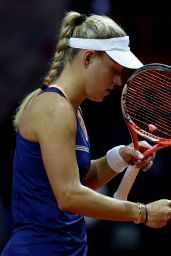 Angelique Kerber -2015 Porsche Tennis Grand Prix in Stuttgart - Day3