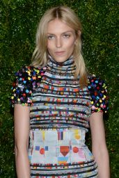 Anja Rubik - Chanel Dinner during the 2015 Tribeca Film Festival