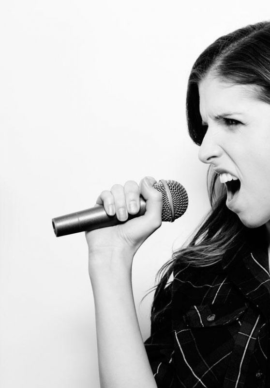 Anna Kendrick - Lip Sync Battle Season 1 B&W Promoshoot