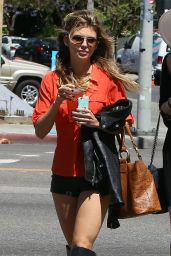 Annalynne McCord, Angel McCord and Rachel McCord - Out in Los Angeles, April 2015