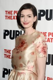 Anne Hathaway - Grounded Opening Night Party in New York, April 2015