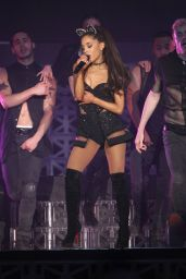 Ariana Grande Performs at The Honeymoon Tour in Anaheim, April 2015