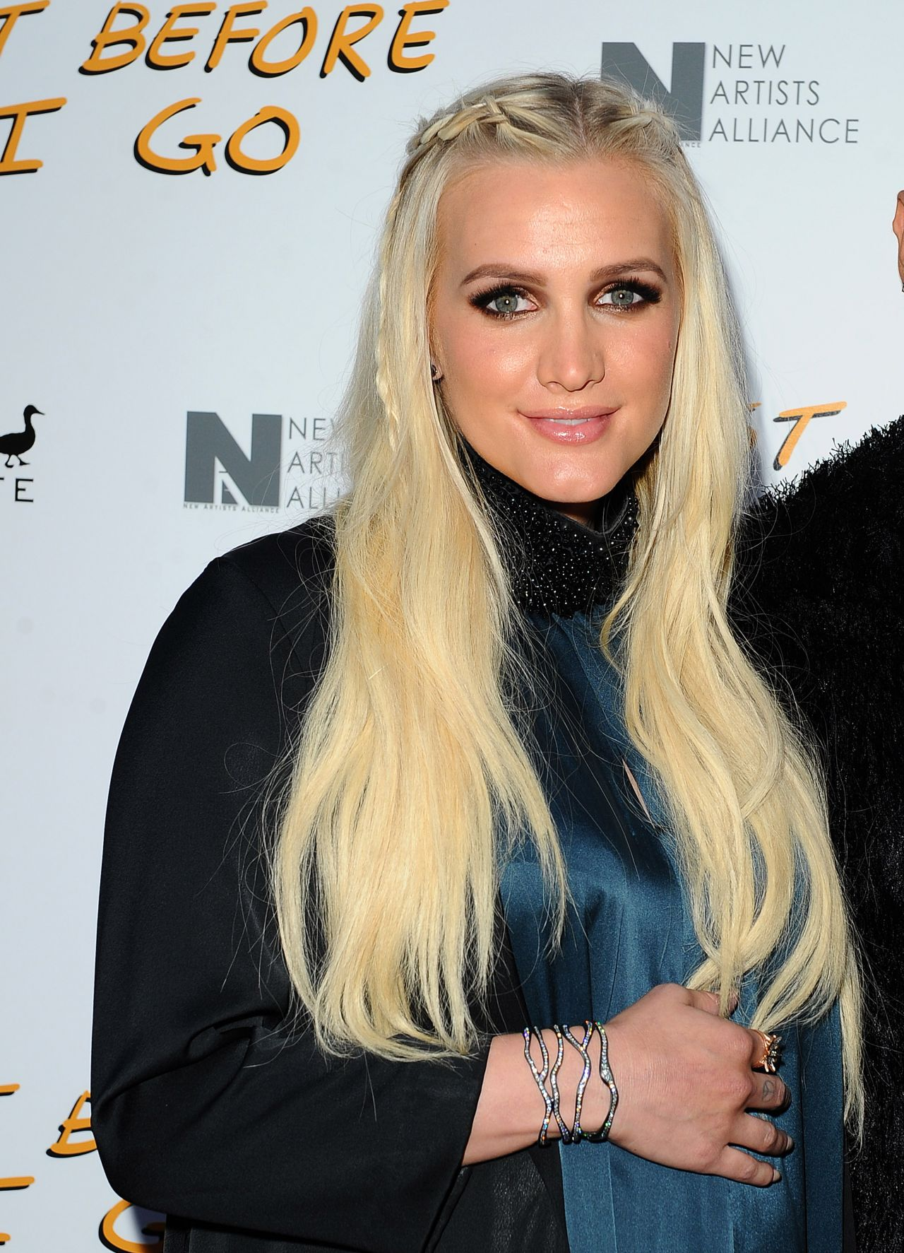Ashlee Simpson - Just Before I Go Premiere in Hollywood Ashlee Simpson