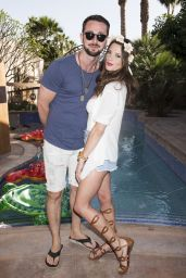 Ashley Greene - Just Jared 2015 Coachella Festival Party presented by Sonix at Private State in Indio