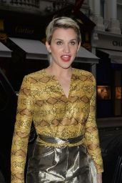 Ashley Roberts at Louise Roe Book launch in London, April 2015