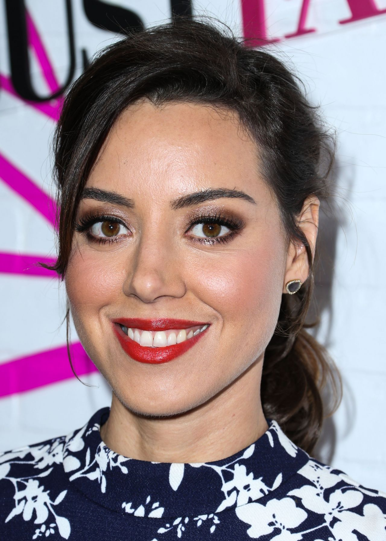 Aubrey Plaza Justfab Ready To Wear Launch Party In West