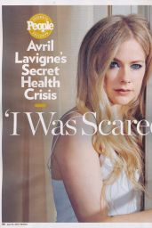 Avril Lavigne - People Magazine April 2015 Issue