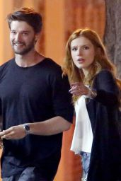 Bella Thorne - Dinner at the Mud Hen Tavern in Los Angeles, April 2015