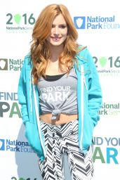 Bella Thorne - #FindYourPark Centennial Launch in New York City