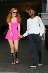 Bella Thorne - Leaving Chateau Marmont in West Hollywood, April 2015