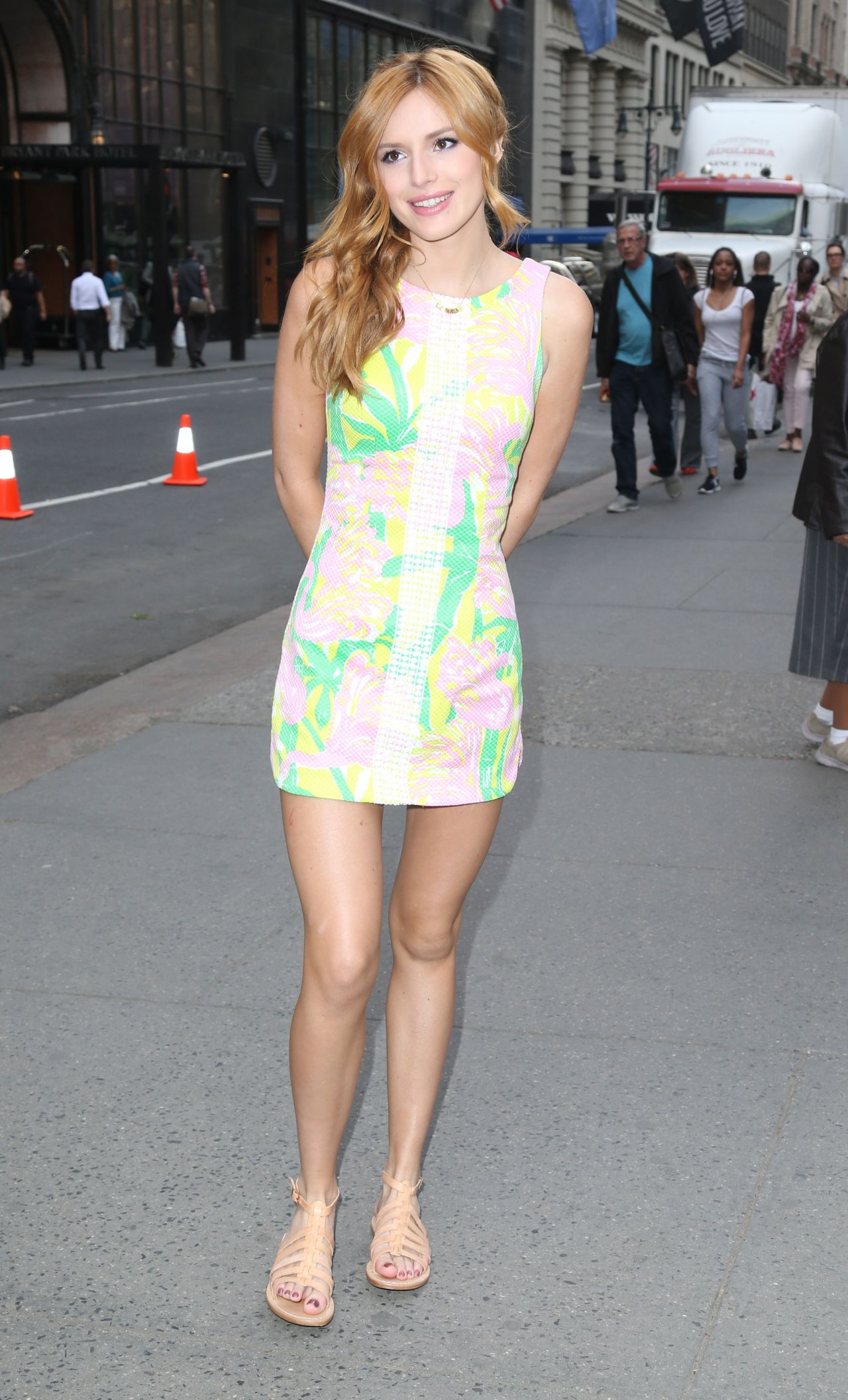 Bella Thorne - Lilly Pulitzer For Target Launch Event, Bryant Park Grill, New York City, April 2015