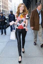 Bella Thorne Street Style - Out in New York City, March 2015