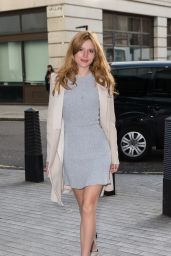 Bella Thorne Style - at BBC Radio 1 Studios in London, March 2015