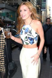 Bella Thorne Style - visits Fox & Friends in New York City