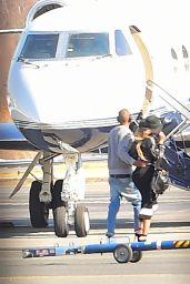 Beyoncé - Boarding a Private jet in New York City, April 2015