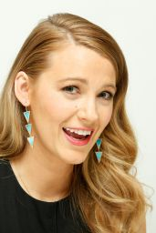 Blake Lively - Age Of Adaline Press Conference in Beverly Hills