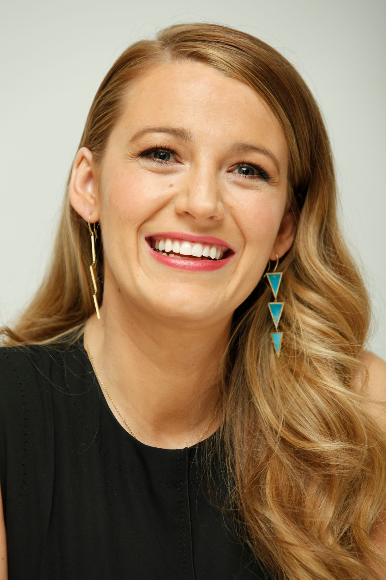 Blake Lively - Age Of Adaline Press Conference in Beverly ...