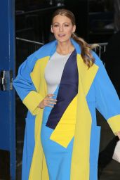 Blake Lively Arriving to Appear on Good Morning America in NYC, April 2015