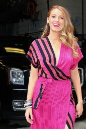 Blake Lively - Live with Kelly and Michael in New York City, April 2015