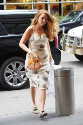 Blake Lively Spring Style -  Out in New York, April 2015