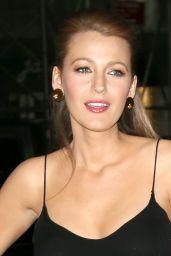 Blake Lively Style - Out in New York City, April 2015