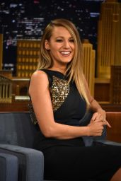 Blake Lively - The Tonight Show Starring Jimmy Fallon in New York City, April 2015
