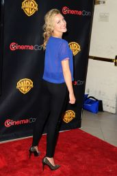 Breanne Parhiala - WB 2015 Cinemacon Press Line in Las Vegas