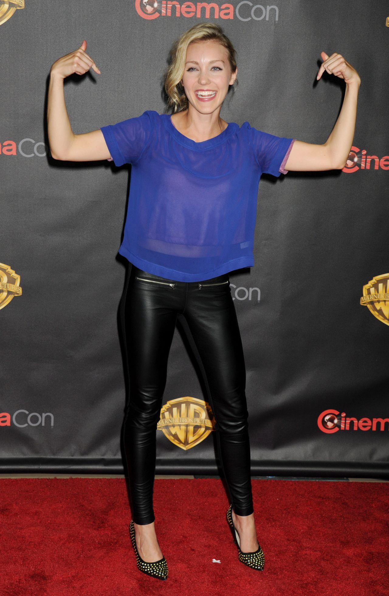 Breanne Parhiala – WB 2015 Cinemacon Press Line in Las Vegas