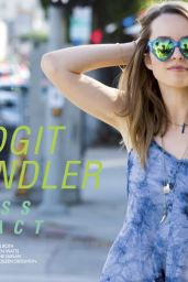 Bridgit Mendler - Ragged Magazine April 2015 Issue