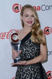 Britt Robertson – 2015 CinemaCon Big Screen Achievement Awards in Vegas