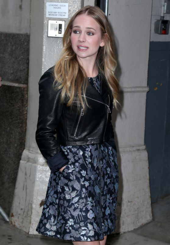 Britt Robertson - HuffPost Live in New York City, April 2015