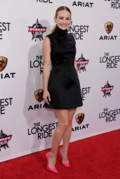 Britt Robertson - The Longest Ride Premiere in Hollywood