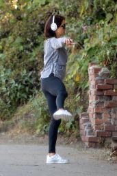 Brooke Burke - Going for a Walk in Santa Monica, April 2015