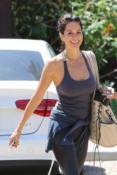 Brooke Burke in Leggings - Out in Malibu, April 2015