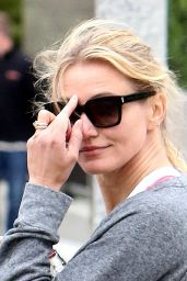 Cameron Diaz - Leaves the Gym in Beverly Hills, April 2015