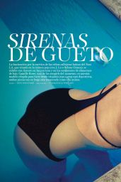 Camille Rowe - S Moda (Spain) - April 2015 Issue